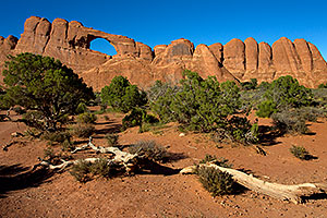 Skyline Arch in Arches National Park