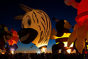 Balloon Fiesta in Albuquerque, New Mexico