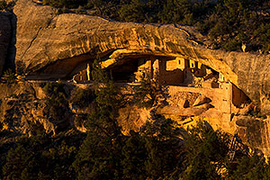 Balcony House ruins at Mesa Verde