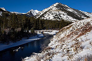 Slate River by Crested Butte