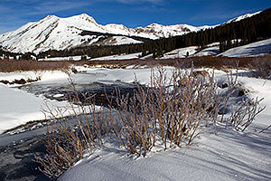 River by Crested Butte