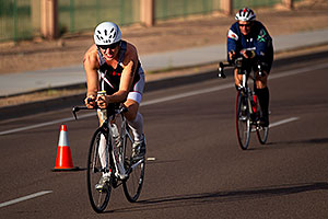 01:39:35 - #185 cycling - Ironman Arizona 2010