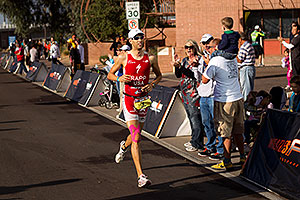 08:15:28 - #1 Jordan Rapp [4th,USA,08:16:45] finishing fourth - Ironman Arizona 2010