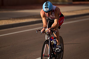 02:31:25 - #41 Stijn Demeulemeester [BEL] early in Lap 2 - Ironman Arizona 2010
