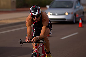 02:36:11 - #16 Heinrich Sickl [17th,AUT,09:01:31] early in Lap 2 - Ironman Arizona 2010