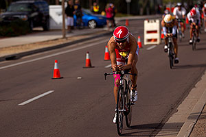 03:48:55 - #1 Jordan Rapp [4th,USA,08:16:45] early in Lap 3 - Ironman Arizona 2010
