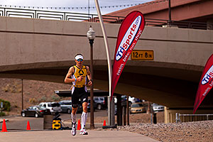 03:56:25 - #9 in the lead - Ironman Arizona 2010