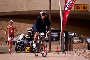 03:57:26 - #1 Jordan Rapp in second position - Ironman Arizona 2010