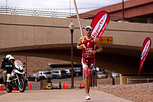 03:57:31 - #1 Jordan Rapp in second position - Ironman Arizona 2010