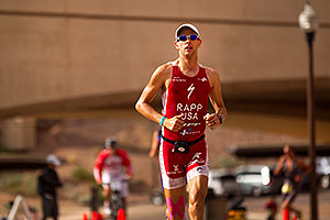 03:48:55 - #1 Jordan Rapp early in Lap 3 - Ironman Arizona 2010
