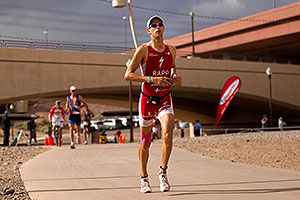 04:54:11 - #1 Jordan Rapp holding second place on Lap 2 - Ironman Arizona 2010