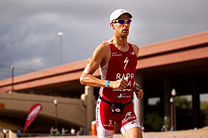 04:54:13 - #1 Jordan Rapp holding second place on Lap 2 - Ironman Arizona 2010