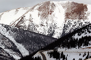 Snow at Loveland Pass