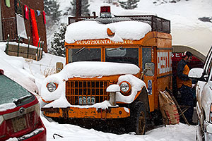 Ouray Mountain Rescue truck by Ouray