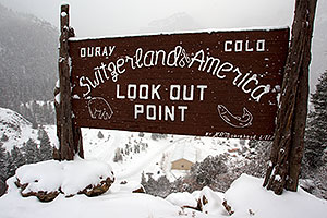 Ouray, Colorado - Switzerland of America - Lookout Point