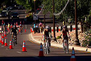 01:01:18 Cycling at Tempe Triathlon