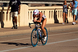 01:29:41 #2 Kathy Rakel riding for eventual Gold at Tempe Triathlon