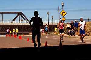02:31:33 Runners at Tempe Triathlon at Tempe Town Lake
