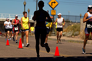 02:40:56 Runners at Tempe Triathlon at Tempe Town Lake