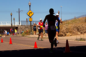 02:43:41 #2 Kathy Rakel running for Gold at Tempe Triathlon