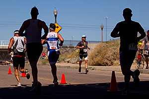 02:45:15 Runners at Tempe Triathlon at Tempe Town Lake