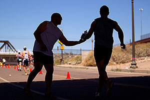 02:50:38 Runners at Tempe Triathlon at Tempe Town Lake