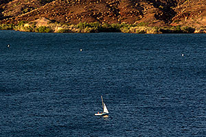 Sailboat at Lake Havasu