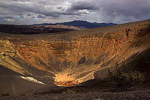 Ubehebe Volcano Crater in Death Valley