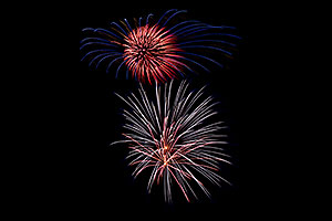 Independence Day Fireworks - 4th of July in Broomfield, Colorado
