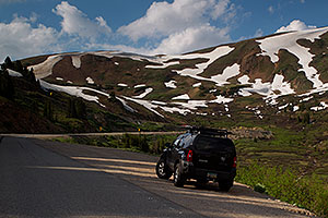 Xterra below Loveland Pass