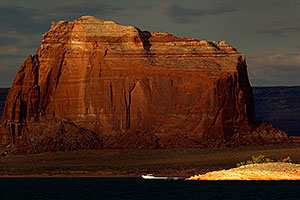 Evening by Antelope Point at Lake Powell