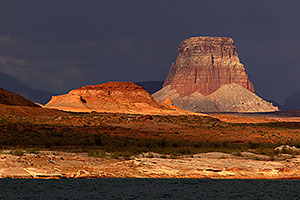 Navajo Butte by Antelope Point at Lake Powell