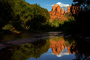 Reflection of Cathedral Rock in Sedona