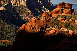 Kissing Rocks at Schnebly Hill Road in Sedona