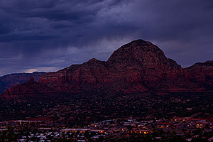 View of Sedona from Airport Overlook