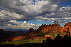 View from Schnebly Hill Road in Sedona