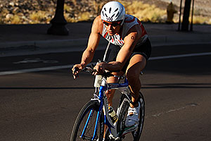 01:08:38 #900 cycling at Nathan Triathlon 2011
