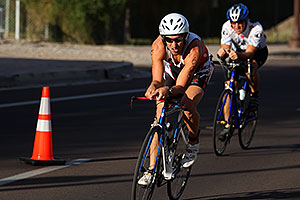 01:04:50 #608 and others cycling at Nathan Triathlon 2011