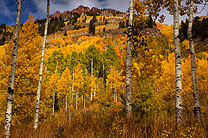 Fall Colors in Maroon Bells, Colorado