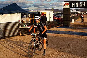 06:39:39 #142 at the end of the lap of Mountain Biking at Trek Bicycles 12 and 24 Hours of Fury …