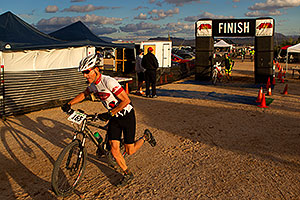 06:40:51 #165 at the end of the lap of Mountain Biking at Trek Bicycles 12 and 24 Hours of Fury …