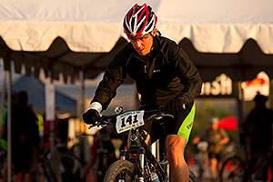 07:03:39 #141 at the end of the lap of Mountain Biking at Trek Bicycles 12 and 24 Hours of Fury …