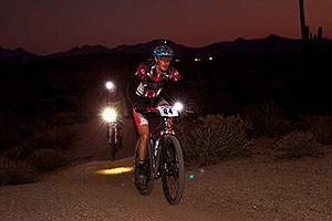 07:55:05 #84 near the end of Lap of Mountain Biking at Trek Bicycles 12 and 24 Hours of Fury …