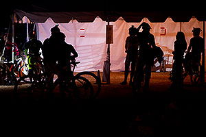 Night time at Trek Bicycles 12 and 24 Hours of Fury …