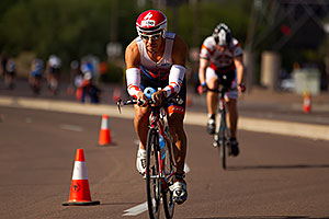 03:12:31 - #1450 cycling at Ironman Arizona 2011