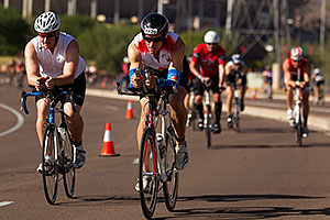 03:22:30 - #2820 cycling at Ironman Arizona 2011