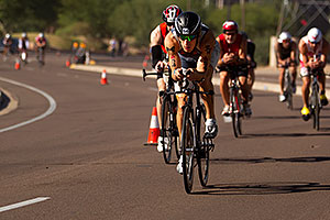 02:52:12 - #54 Sebastian Kienle [DEU] (eventually 6th in 08:19:29)  at start of Lap 2 - Ironman Arizona 2011