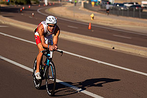 02:25:12 - #37 Torsten Abel [USA] (eventually 4th in 08:16:44) at start of Lap 2 - Ironman Arizona 2011