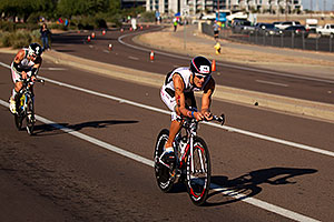 02:25:17 - #16 Dominik Berger [AUT] (eventually 31st in 09:02:52) at start of Lap 2 - Ironman Arizona 2011