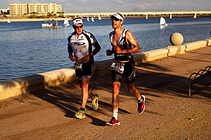 09:08:25 - #955 running in Ironman Arizona 2011